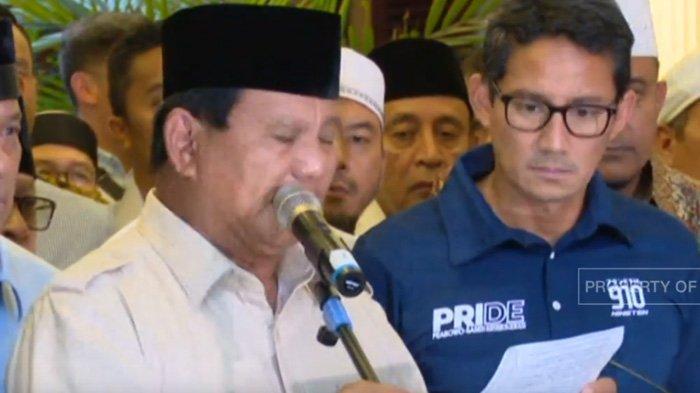Prabowo-Sandiaga Deklarasi Menang: Bentuk Pemerintahan The Best and The Brightest Anak Muda