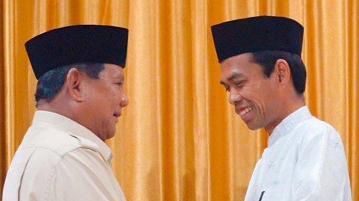 Difitnah Terima Rumah dari Prabowo, Ustaz Abdul Somad Beberkan 2 Sosok yang Niat Beri Mobil Mewah