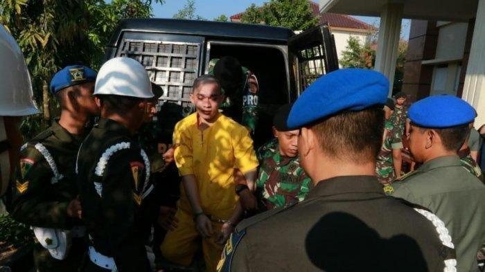 Sidang Pembunuhan di Palembang, Terungkap Cara Prada DP Habisi Nyawa Korban Hingga Gergaji Patah