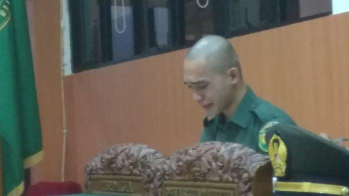 Kakak Kandung Korban Mutilasi Vera Oktaria Bersaksi, Tangis Prada DP Pecah