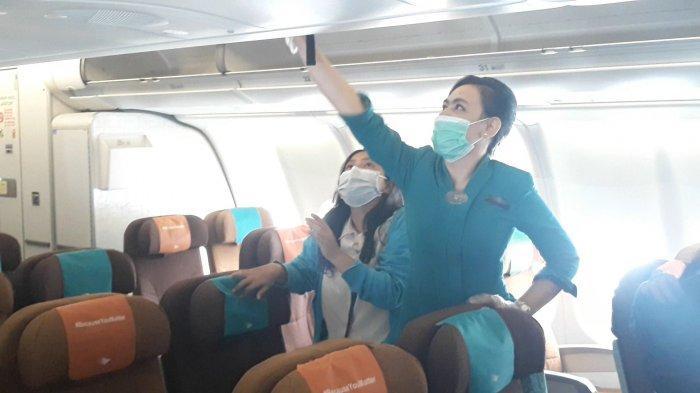 Melihat Protokol Kesehatan Garuda Indonesia di Masa Pandemi Covid-19