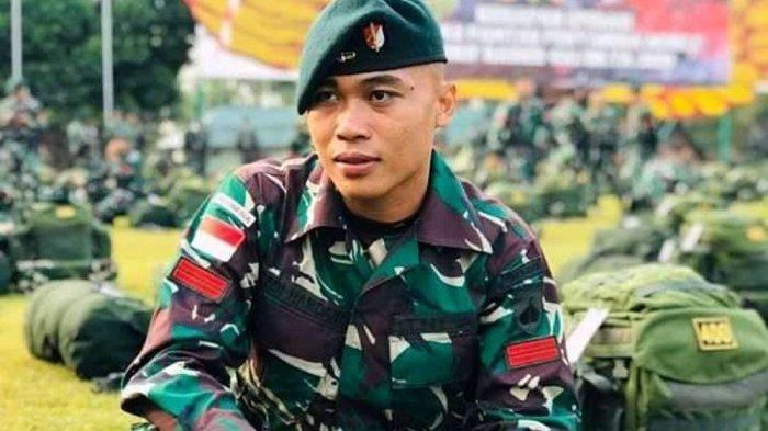 Pratu Dedi Hamdani gugur setelah diberondong tembakan di Pos TNI Titigi, distrik Sugapa pada pukul 07.00 WIT Jumat (22/1/2021).