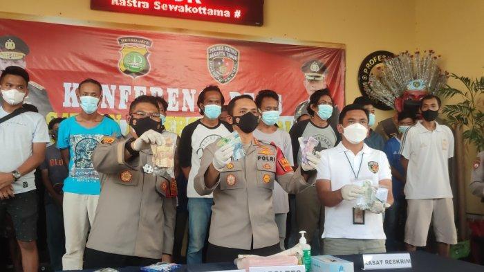 Polrestro Jakarta Timur Amankan 21 Orang Diduga Terkait Aksi Premanisme
