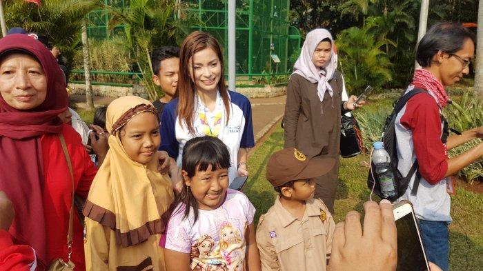 Kesan Pesan Sandra Olga Jadi Pembawa Obor Asian Games 2018: Jakarta Paling Heboh Diantara Kota Lain