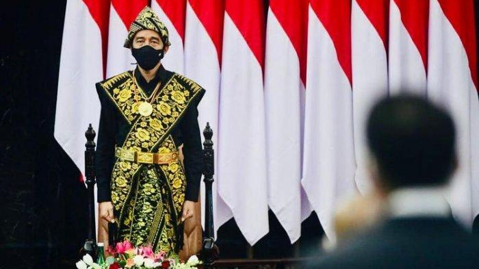 Jokowi Ingatkan Sikap Sempurna dan Penghormatan ke Merah Putih Pukul 10.17 WIB