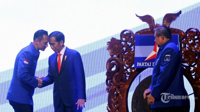 Jokowi Panggil AHY ke Istana Besok, SBY Sampaikan Sikap Demokrat Soal Pengumuman KPU Hari Ini