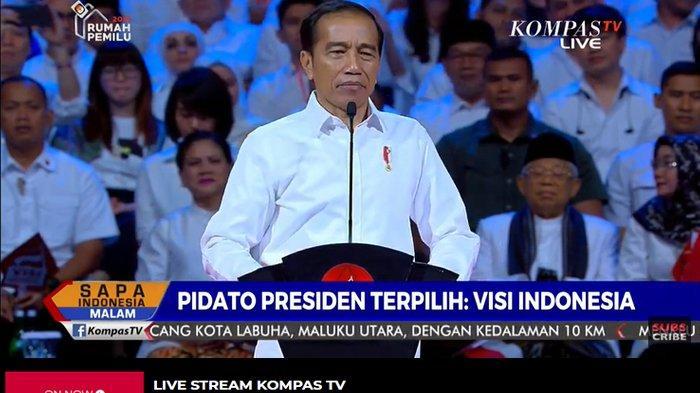 Jokowi Teriak Akan Bubarkan Lembaga yang Dianggap Tak Bermanfaat, Sorak Penonton Menggelegar