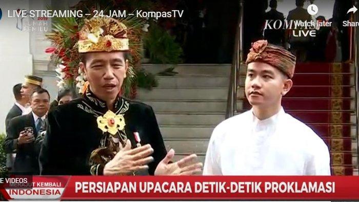 Beda dari Presiden Lain, Jokowi Lakukan Ini di Upacara, Jurnalis Senior: Bikin Paspampres Deg-degan