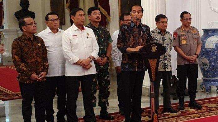 Setelah Coblosan Jokowi Tegaskan Sudah Berinisiatif Temui Prabowo