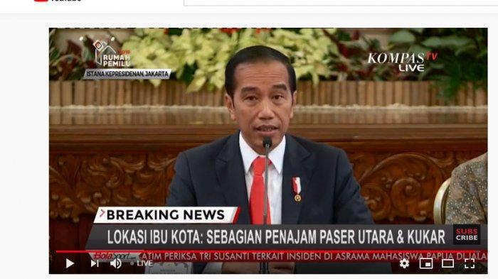 BREAKING NEWS : Penajam Paser Utara & Kukar Jadi Lokasi Ibu Kota Negara Baru, Ini Alasan Jokowi
