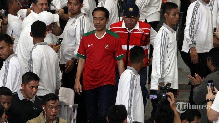 Nonton Laga Timnas Kroasia Vs Inggris, Presiden Jokowi Cuma Tidur Satu Jam