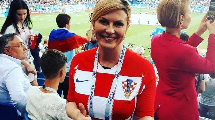 Beri Dukungan Pada Timnas,Foto Presiden Kroasia Viral Disangka Model dan Bintang Film Dewasa