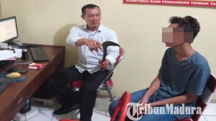 Pria Bertopeng Masuk Kamar dan Bacok Ibu Muda di Tulungagung Tertangkap: Residivis dan Dibawah Umur