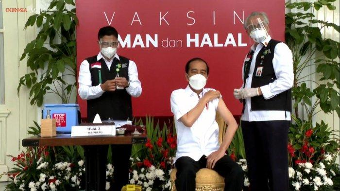Jokowi Jadi yang Pertama Disuntik Vaksin Covid-19, Ini Efek Samping yang Muncul Setelah Vaksinasi