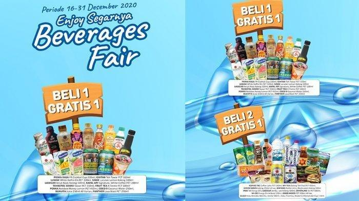 Promo Beverage Fair Alfamart 16-31 Desember 2020.
