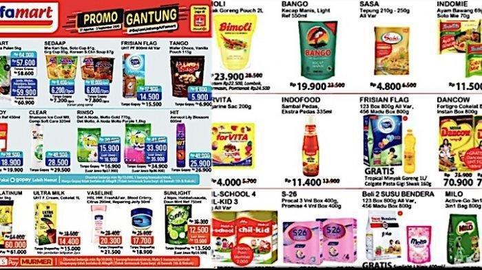 Daftar Lengkap Promo Alfamart 1-2 September Minyak Goreng, Kecap, Susu Hingga Kuis Berhadiah Voucher