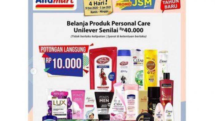 Promo JSM Alfamart periode 31 Desember 2020 hingga 3 Januari 2021