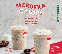 Promo Kuliner Hari Kemerdekaan RI dari Starbucks.