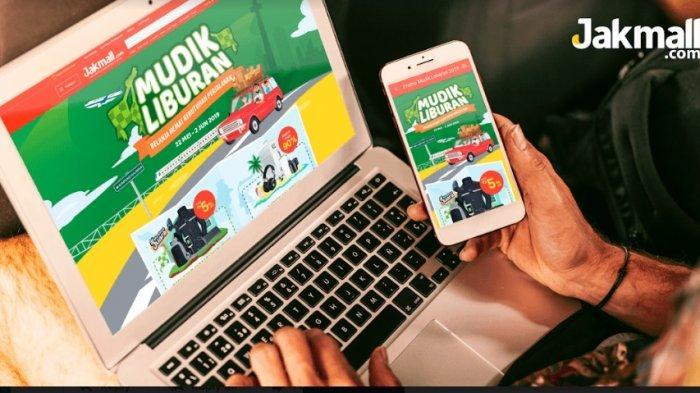 Promo Mudik Liburan untuk Lebaran 2019, Jakmall.com Beri Diskon Sampai 90 Persen & Gratis Ongkir