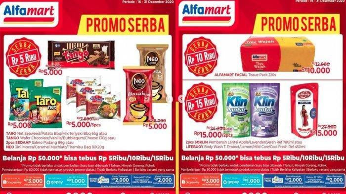 Promo Serba Alfamart 16-31 Desember 2020.