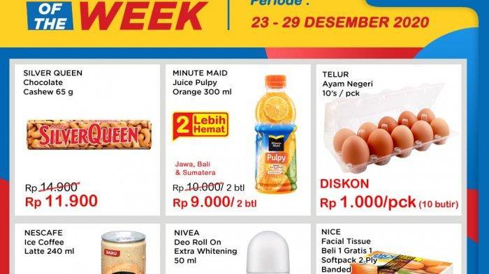 Promo terbaru Indomaret periode 23-29 Desember: Super Hemat, Promo Heboh hingga Product of The Week
