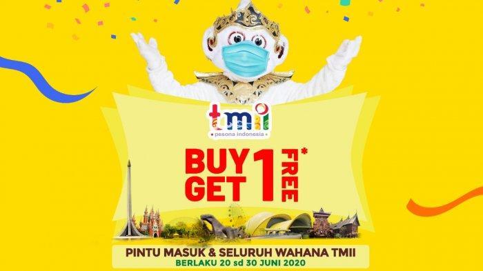 Dibuka Akhir Pekan Ini, Taman Mini Indonesia Indah Berikan Promo Tiket Buy One Get One Free