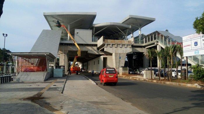 Skybridge Stasiun LRT Velodrome ke Halte Pemuda Rawamangun akan Miliki Desain yang Estetika