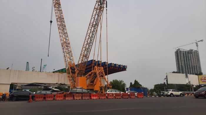 Pembangunan Tol Becakayu Berlanjut, Jalan Simpang BCP Ditutup Tiap Malam, Ini Daftar Pengalihan Arus