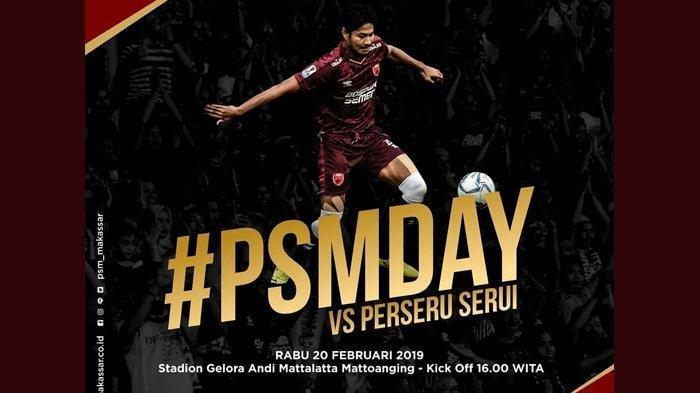 Link Live Streaming PSM Makassar Vs Perseru Serui Piala Indonesia Sore Ini Pukul 15:00 WIB