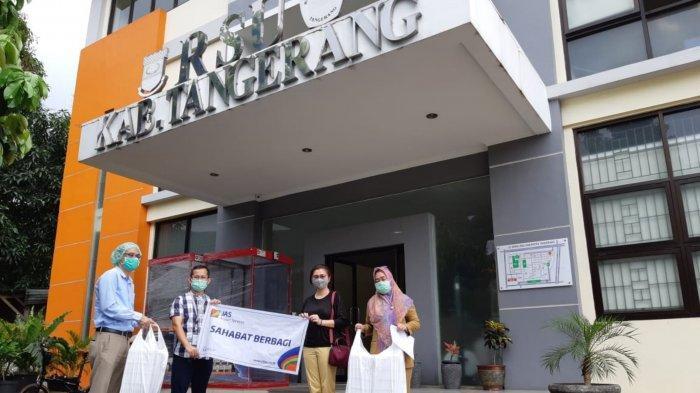Biasa Sediakan Makanan di Bandara Soekarno-Hatta, PT JAS Salurkan Pangan ke Tenaga Medis Tangerang