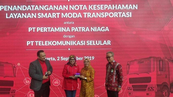 Sempurnakan SmartMT, Pertamina Patra Niaga Gandeng Telkomsel