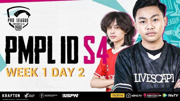 Berlangsung Live Streaming PUBG Mobile Pro League PMPL ID S4 Week 3 Day 1, Penentuan Bigetron RA