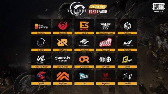 Berlangsung Live Streaming Final PUBG Mobile World League PMWL East Season 2020 Hari Ketiga