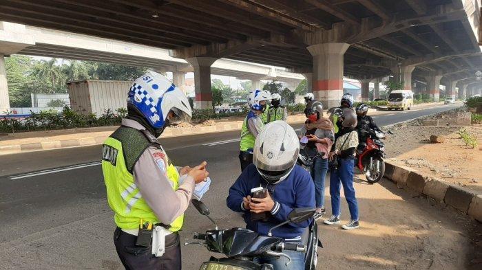 Operasi Patuh Jaya 2020, 5.435 Kendaraan Ditindak di Jakarta Barat