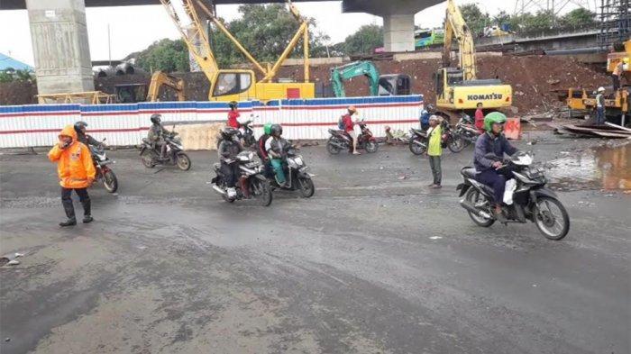 Ada Pengalihan Arus Lalu Lintas di Jalan Kalimalang dan Ahmad Yani Kota Bekasi