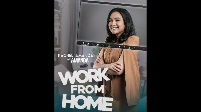 Rachel Amanda Jalani Proses Syuting Work From Home Via Zoom Meeting
