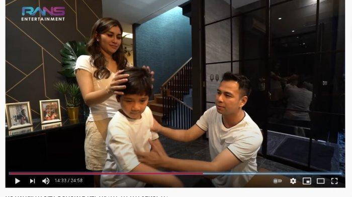 Raffi Ahmad Sering Syuting Pulang Malam, Rafathar Polos Curhat ke Nisya Ahmad: Aa Kasihan Sama Mamah