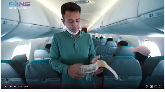 Liburan Mewah Rans Entertaiment, Raffi Ahmad Doorprize Motor hingga Naikkan Gaji Karyawan di Pesawat