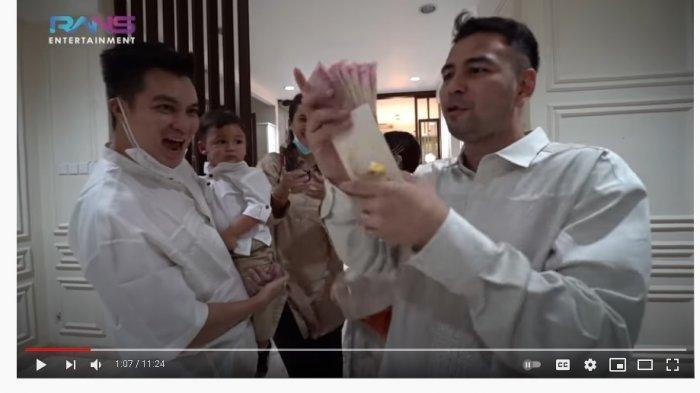 Raffi Ahmad Beri Kiano THR Lebaran Uang Jutaan, Baim Wong Berseloroh: Yang Banyak Kali Bro!
