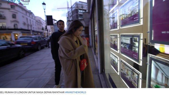 Raffi Ahmad Mau Beli Rumah di London Buat Rafathar, Nagita Slavina Santai: Kamu Jual Aja Lamborghini