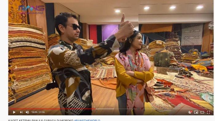 Nagita Slavina Geram Diperlakukan Ini di Toko Karpet, Kameramen: Dont Worry, She Can Buy Everything!
