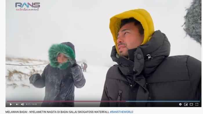 Nagita Slavina Panik Diterjang Badai Salju, Raffi Ahmad Soroti Keberadaan Rafathar: Aduh Ya Allah