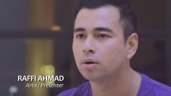 Raffi Ahmad Berpaling Hati dari Prabowo di Pilpres 2019, Ini Bukti Dukungannya untuk Jokowi