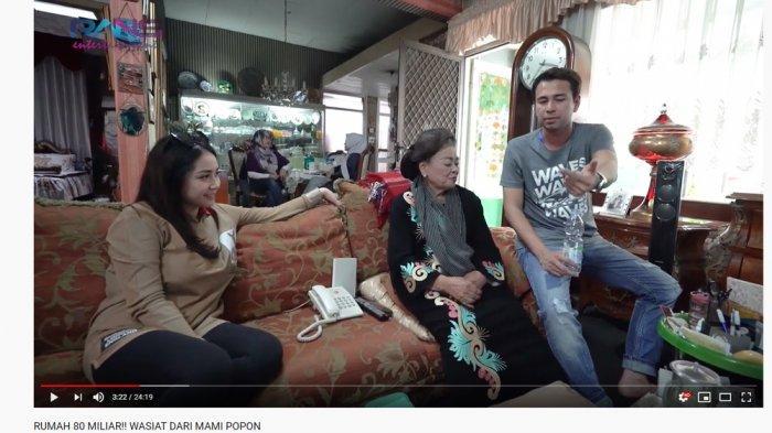 Raffi Ahmad Tetiba Lupa Ini saat Berkunjung ke Rumah Mami Popon, Nagita Slavina Senyum: Keterlaluan