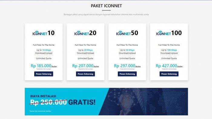 Ketahui Jangkauan Iconnet di Jabodetabek, Simak Harga Paket dan Lokasi Layanannya
