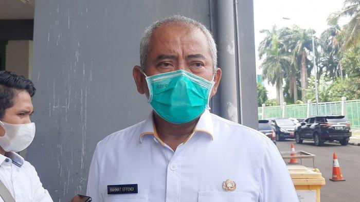 Wali Kota Bekasi Rahmat Effendi saat dijumpai di Stadion Patriot Candrabhaga, Selasa (6/4/2021).