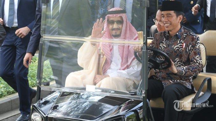 Daftar Sederet Barang Gratifikasi Pemberian Raja Salman ke Presiden Jokowi, Ada Jam Rp 4,7 Miliar