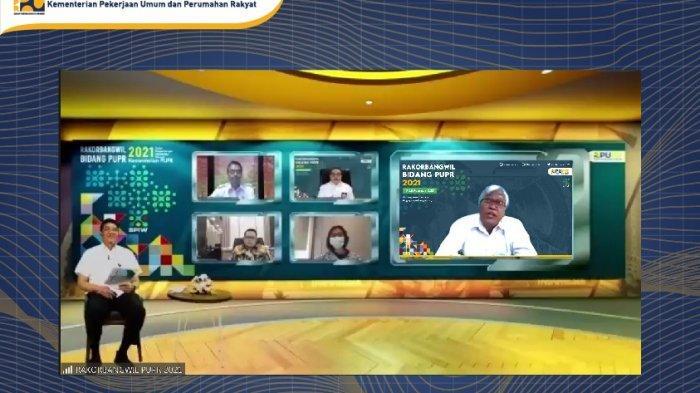 Kementerian PUPR Gelar Rakorbangwil Sinergikan Pembangunan Infrastruktur 2022