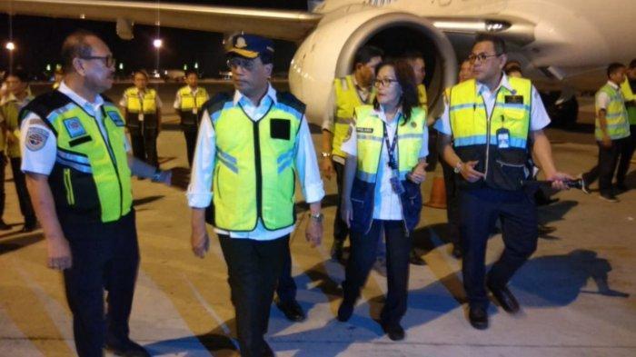 Persiapan Natal-Tahun Baru, Menhub Sidak Kesiapan Pesawat di Bandara Soekarno-Hatta