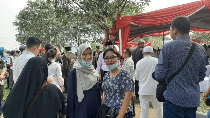 Ikuti Pemakaman BJ Habibie, Ester Senang Bisa Bersalaman dengan Presiden Jokowi